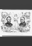 Ours hero´s of 1848 and 1865(Nuestros héroes de 1848 y 1865). Litografía. Kimmel and Foster, circa 1865. © Library of Congress of USA.